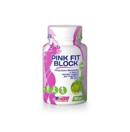 Pink Fit® Block - integratore alimentare contro l'assorbimento dei grassi