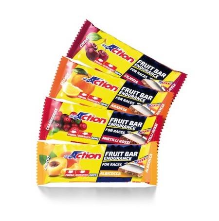 Fruit Bar - Barretta energetica a base di frutta con grassi vegetali non idrogenati