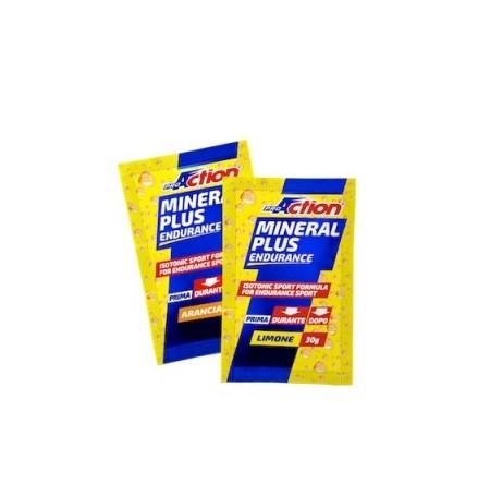 Mineral Plus - Bustina 30 G - Prodotto dietetico salino per sportivi con vitamina C zuccheri e carboidrati