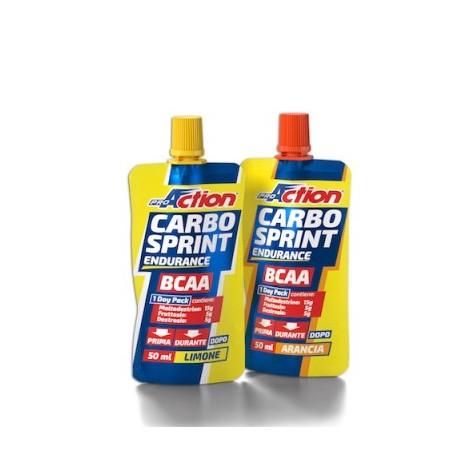 Carbo Sprint BCAA - Integratore dietetico liquido a base di carboidrati e aminoacidi ramificati